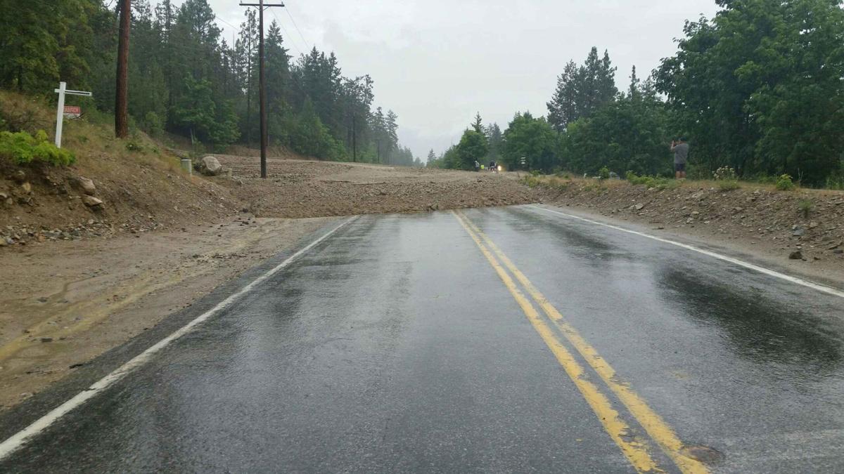South Lakeshore Road mudslide