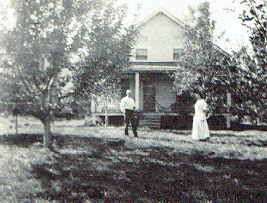 Fike home in 1915