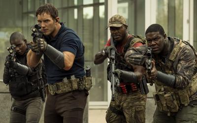 Scattershot 'Tomorrow War' has Chris Pratt battling monsters of the futur