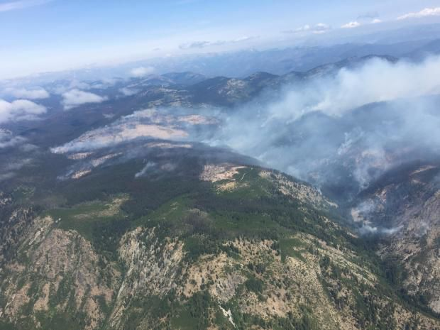 UPDATE | Level 3 evacuations issued at Entiat fire