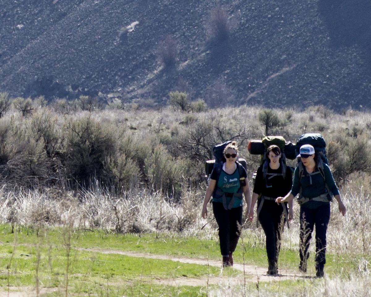 Tony Buhr hiking