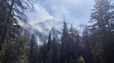 UPDATE: 7 p.m. Sunday | Crews hit new Lost Lake Fire from the air