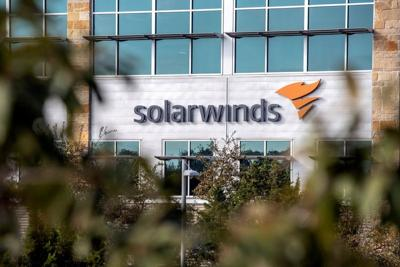 FILE PHOTO: FILE PHOTO: Exterior view of SolarWinds headquarters in Austin
