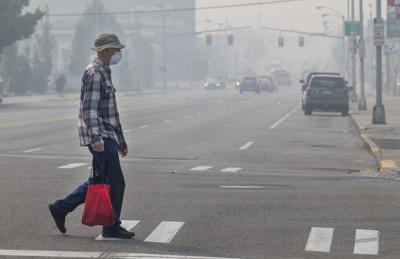 Poor air quality to continue 'for some time'