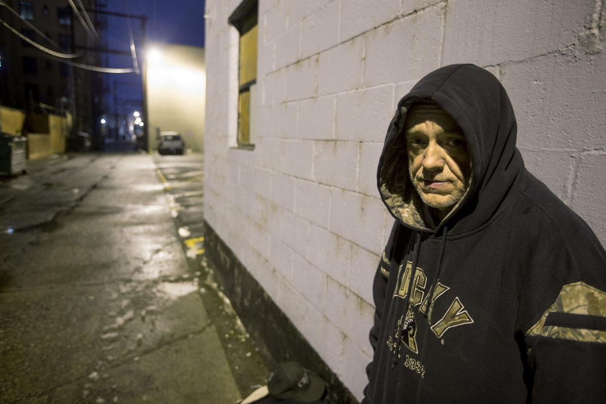 Homeless in Wenatchee: The story of Tommy Adkisson