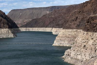 Hoover Dam reservoir sinks to record low, in sign of extreme drought near Las Vegas