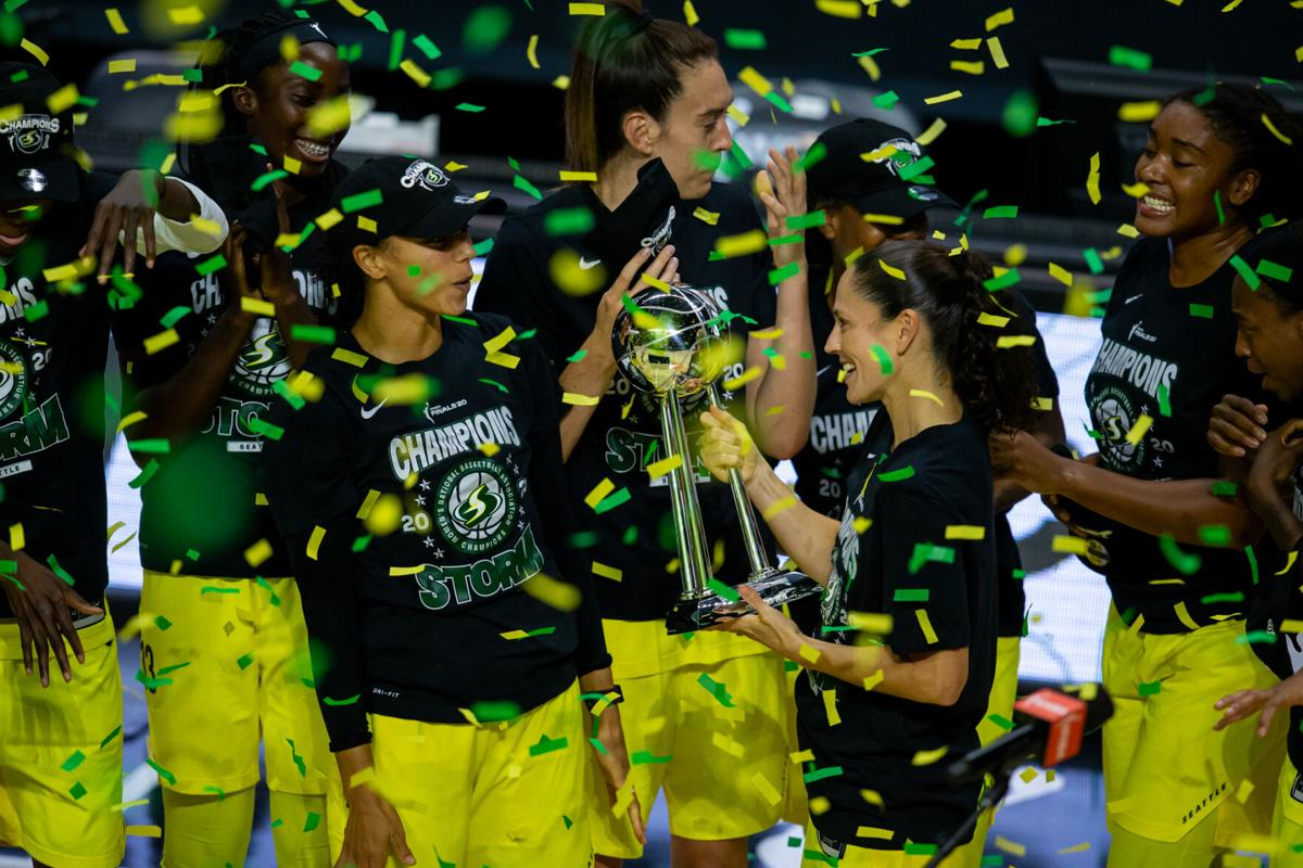 WNBA: Finals-Las Vegas Aces at Seattle Storm