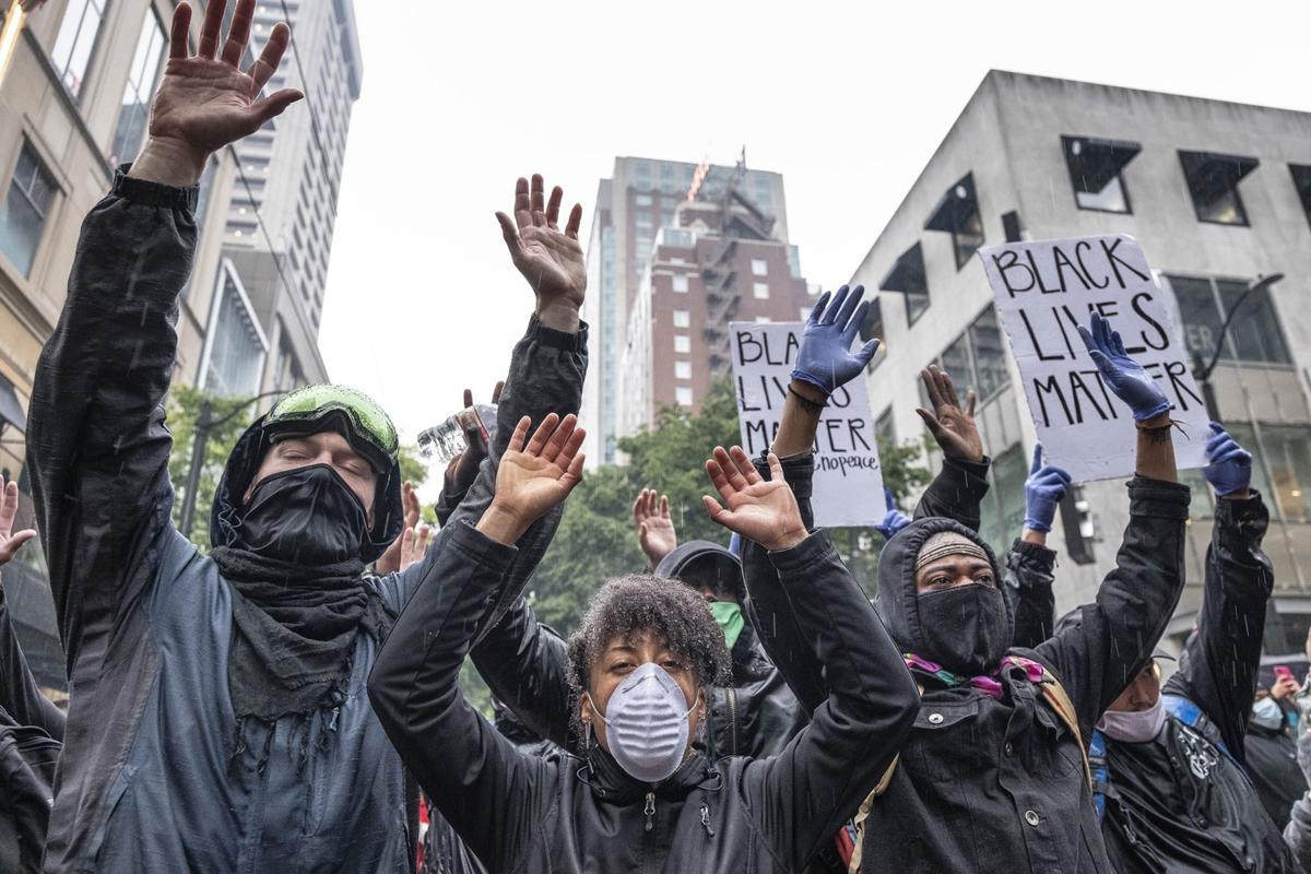 Violence Destruction Mar Seattle Protests Over The Death Of George Floyd Northwest Wenatcheeworld Com