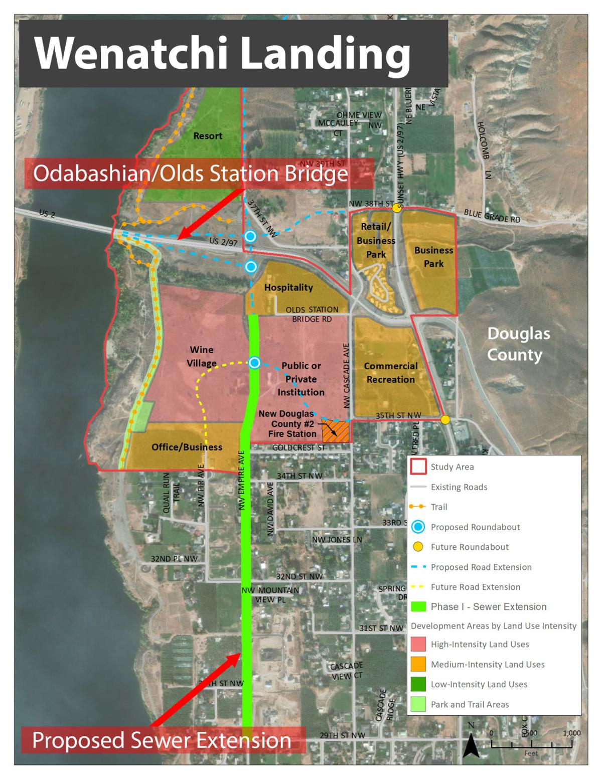 Wenatchi Landing sewer extension would allow economic development