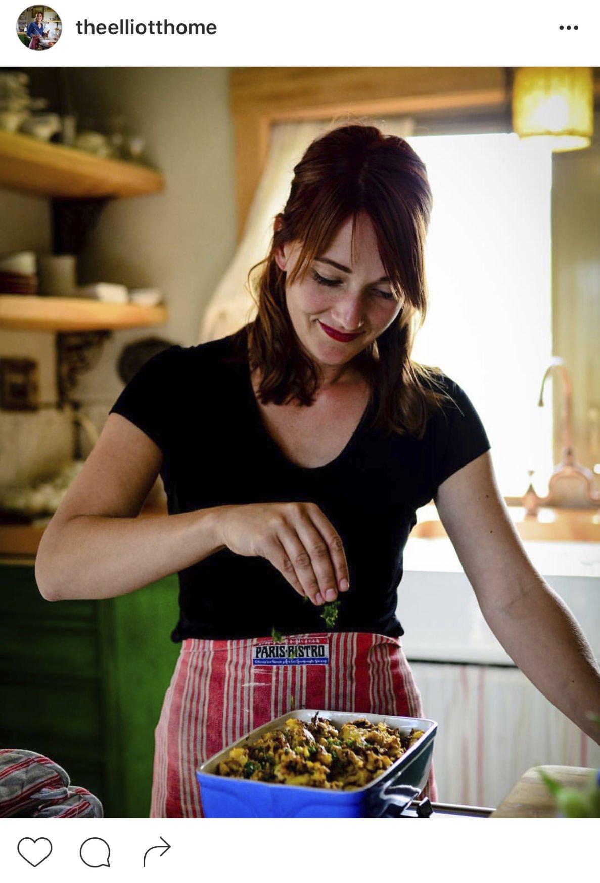 "Kelli Scott | Malaga family sets ""Homestead Table"""