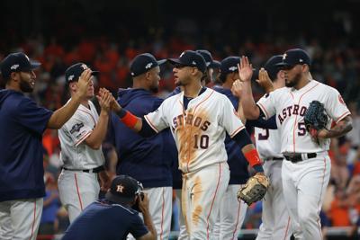 MLB: ALDS-Tampa Bay Rays at Houston Astros