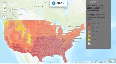 heat across the U.S.