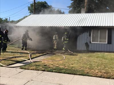 Fire damages Utah Street home