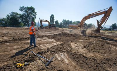 Ground work begins on waterfront apartments