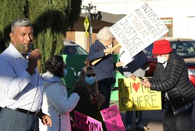 Immigrant rights activists rally in Yakima to press for a pathway to citizenship