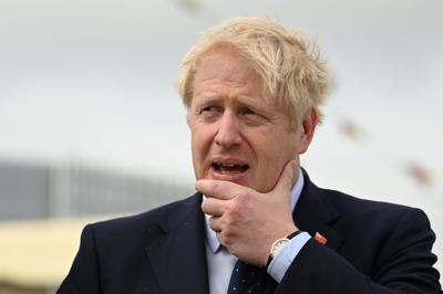 Boris Johnson visit as part of London International Shipping Week