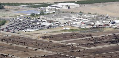 Tyson Foods' packing plant in Wallula