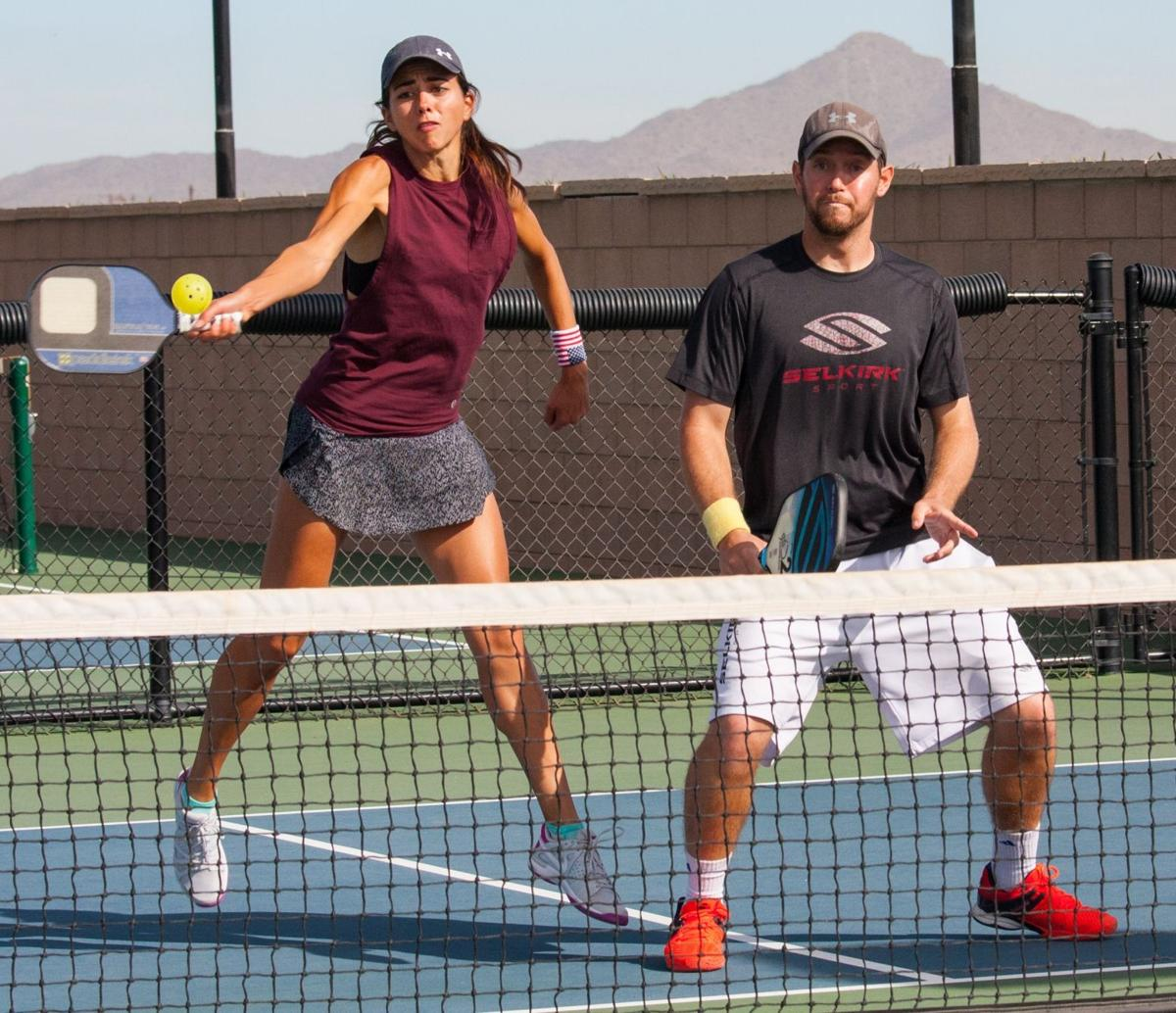 Let's talk pickleball   The exciting game of pickleball ...