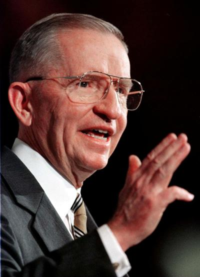 FILE PHOTO: FILE PHOTO OF ROSS PEROT.