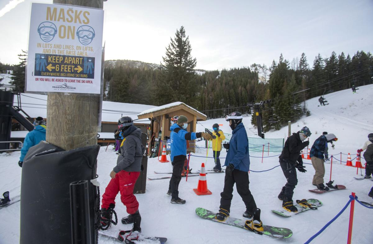 Opening day at Mission Ridge