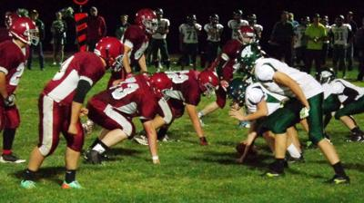 The Shocker defense holds back the Mountain Lion offense. (Joel Harding photo)