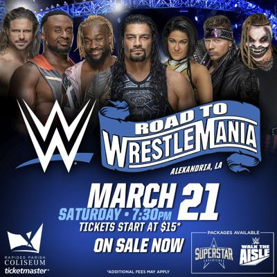WWE Live Saturday, March 21st