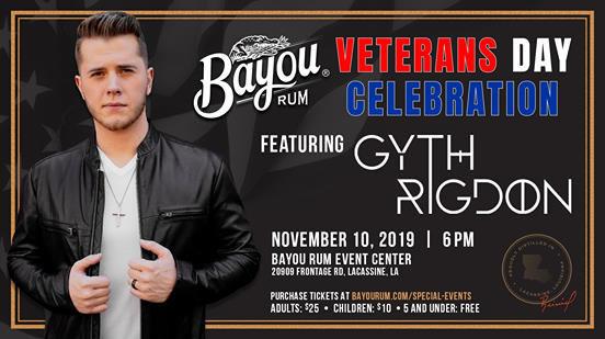 Bayou Rum Gyth Rigdon