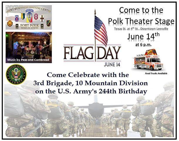 Polk Stage Flag Day