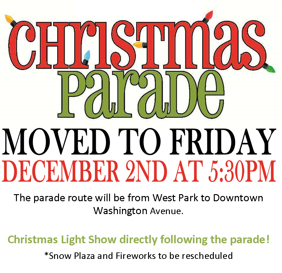 moved parade