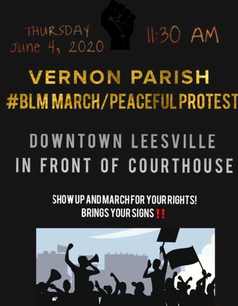Vernon Parish BLM