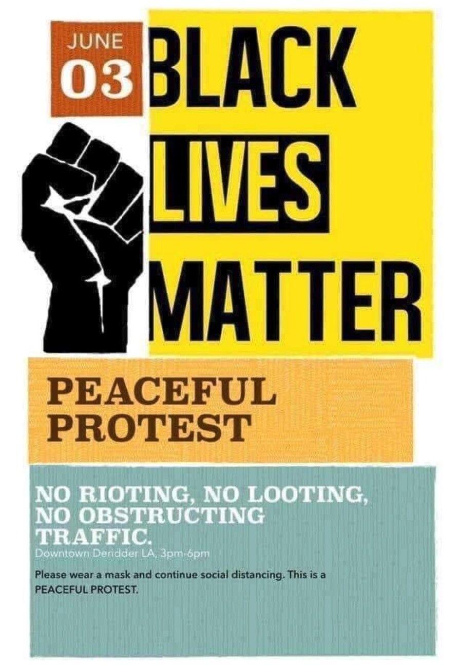 DeRidder Black Lives Matter