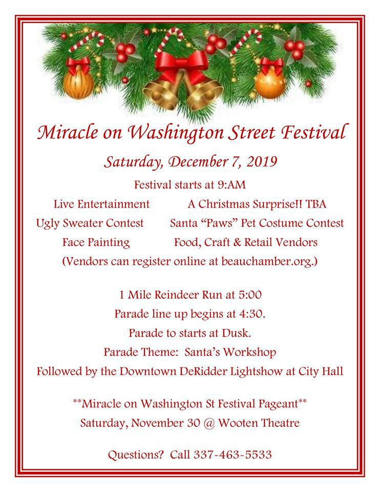 Miracle on Washington Street Christmas Festival
