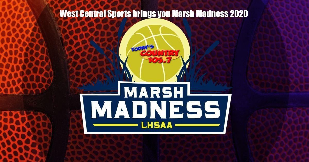 Marsh Madness West Central Sports Logo