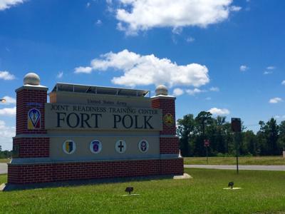 Fort Polk Entrance Road