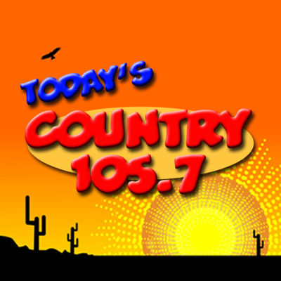 Today's Country 105.7 logo