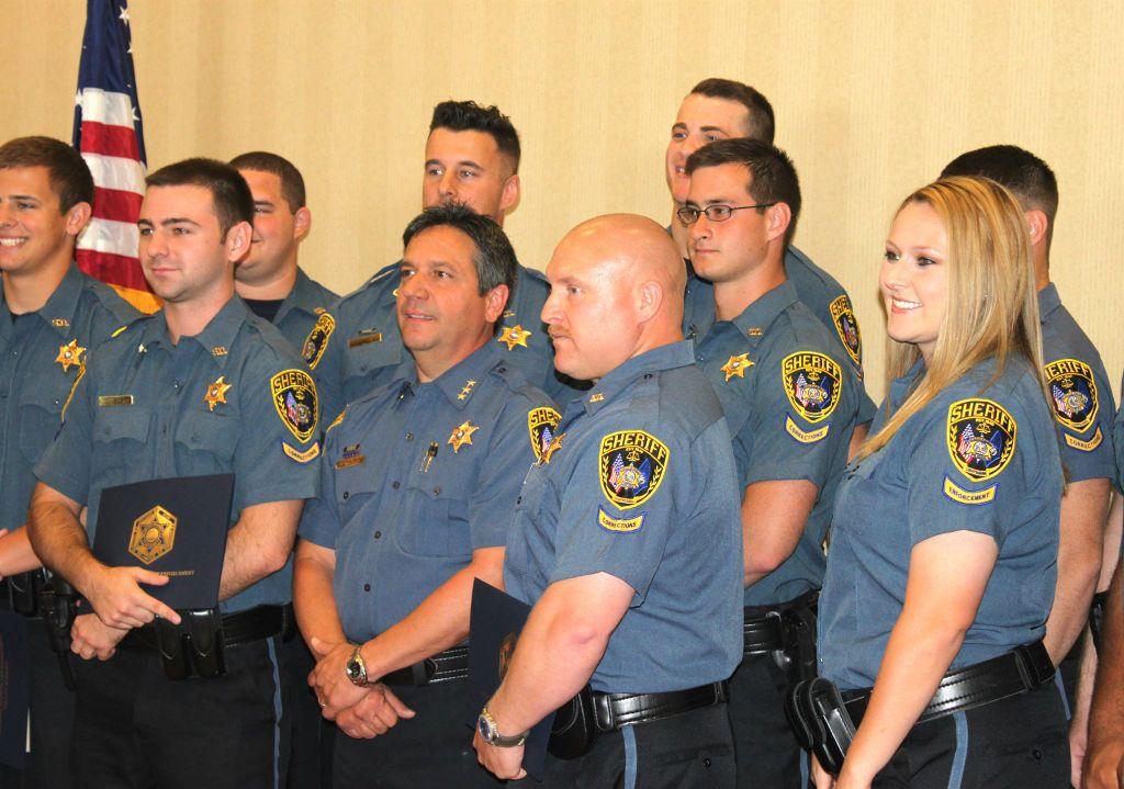 Calcasieu Parish Sheriff's Office academy class