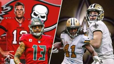 SAints vs bucs