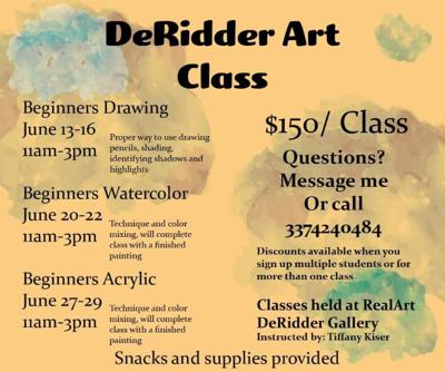 DeRidder Art Classes
