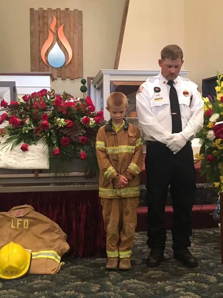 Vernon Parish Fire District Honor Guard courtesy photo