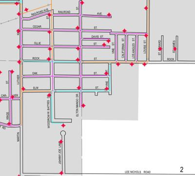deridder water outage map 09112019.jpg