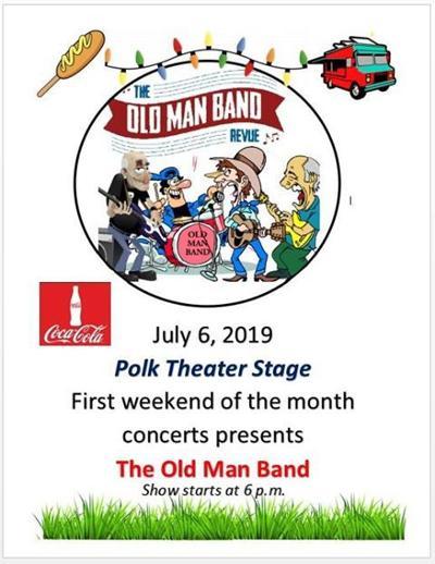Old Man Band Polk Theater