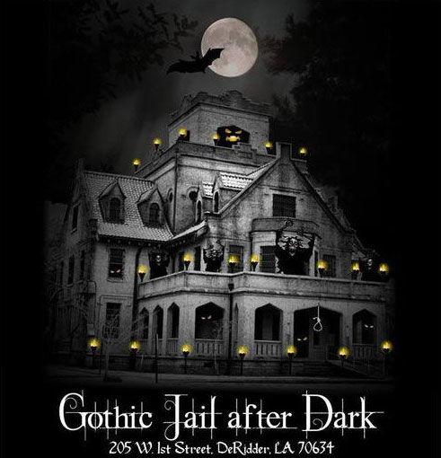 Gothic Jail After Dark