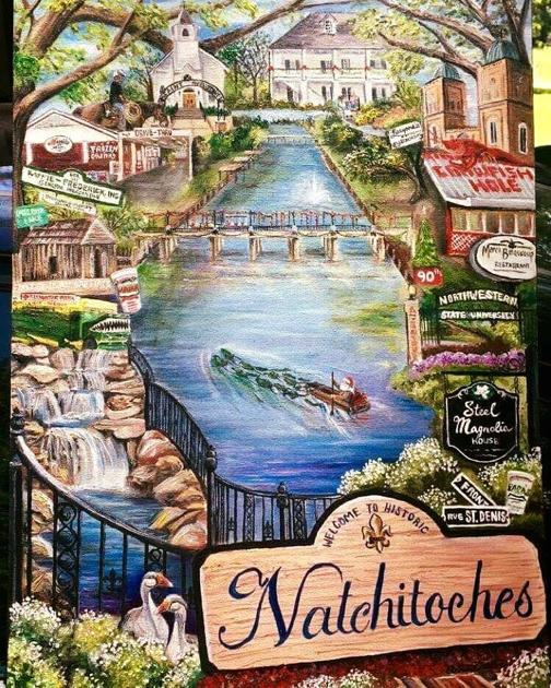 Natchitoches Christmas Festival.Natchitoches Christmas Festival Poster Unveiled