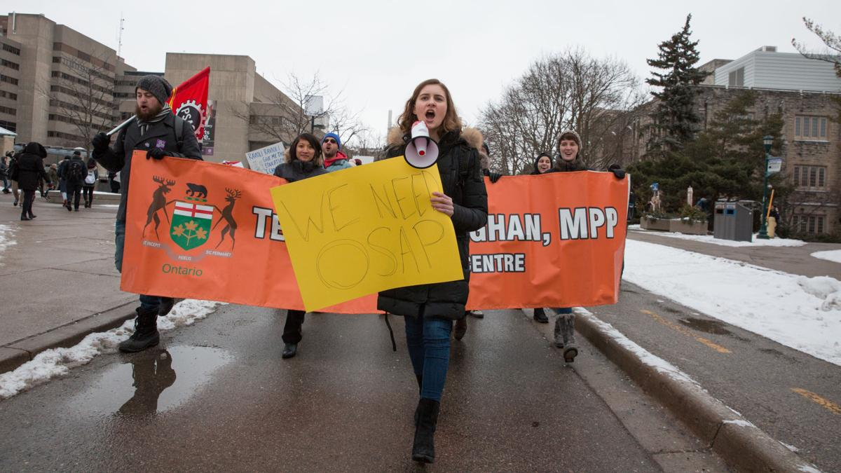 Anti-Ford Tuition Protest 17 (Photo)