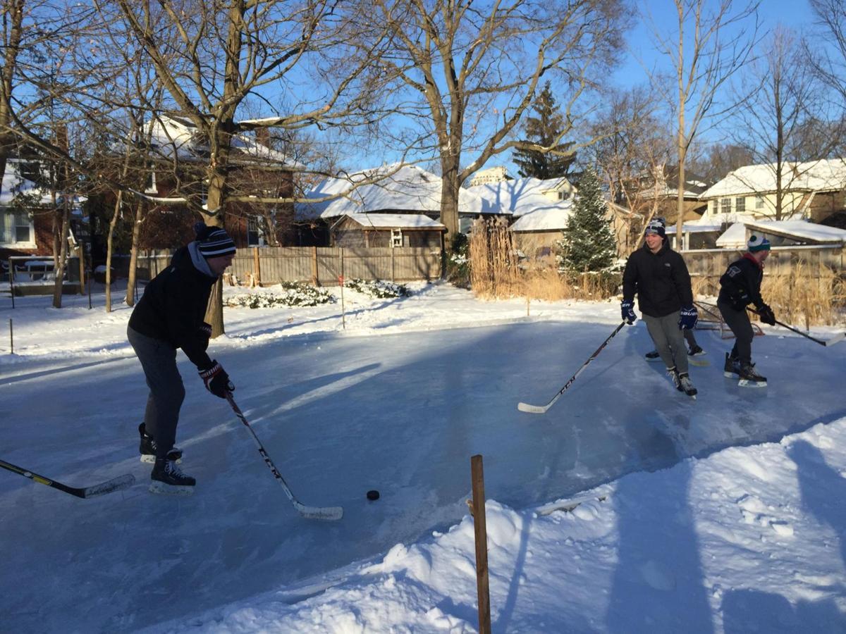 Skating in Wortley Village (winter activity photo 2)