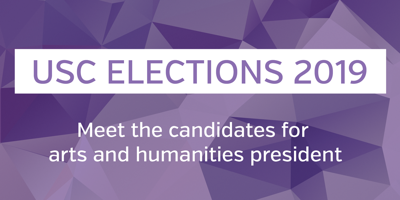 USC elections 2019 - arts and humanities
