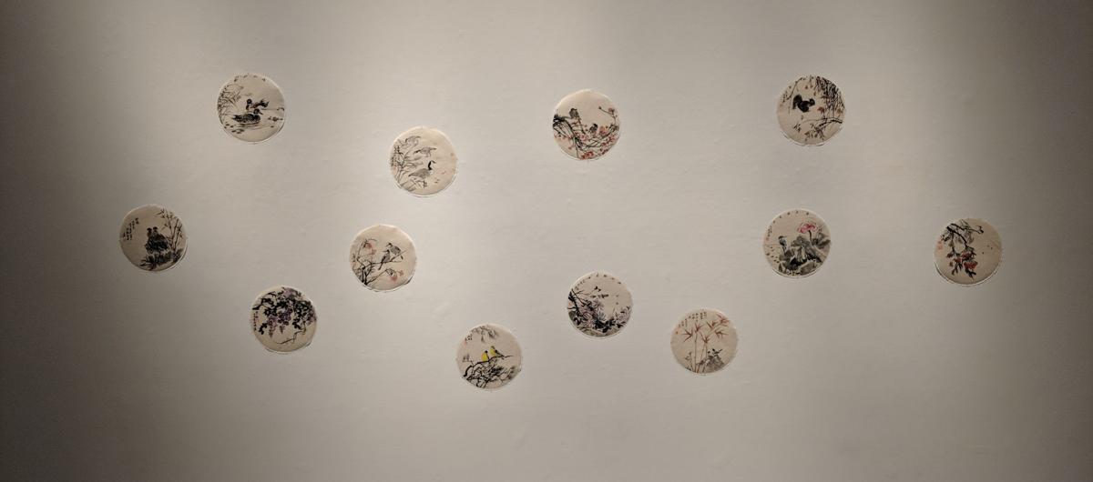 Shujuan Liu dot paintings (Photo)