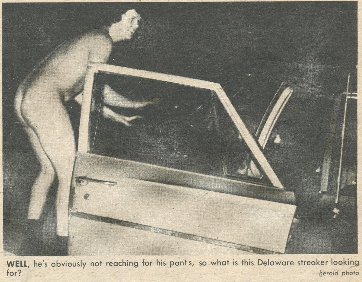 Streaker from the '70s