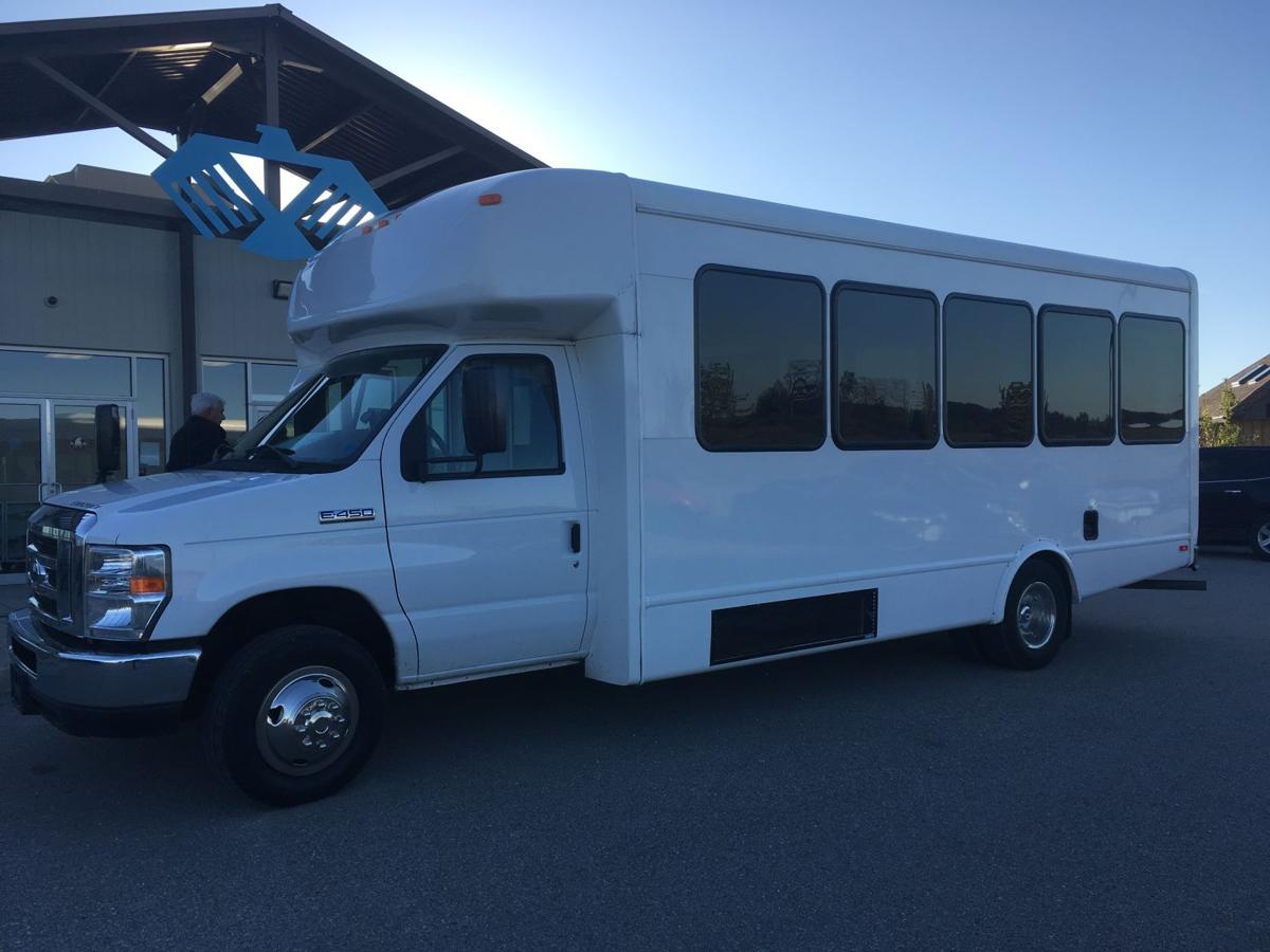 25-passenger bus