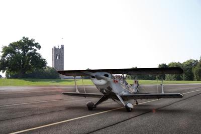 UC Hill plane runway (Photo)